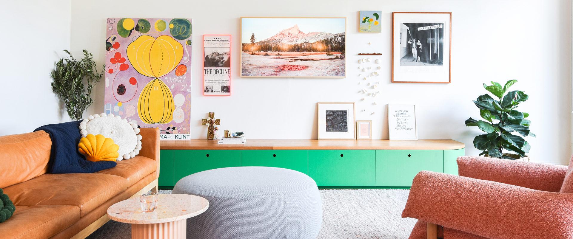 Queens Park Living Room